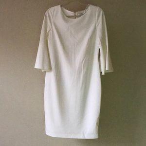 Calvin Klein flare sleeve dress